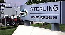 Former Sterling Truck plant in St. Thomas