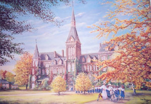 Alma College by Peter Robson