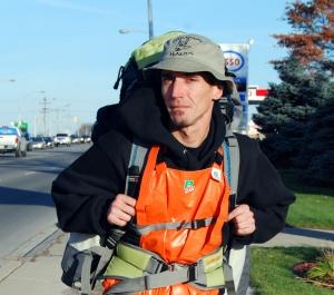 Homeless advocate Jason McComb