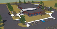 Proposed St. Thomas police station to be build adjacent to the Timken Centre.