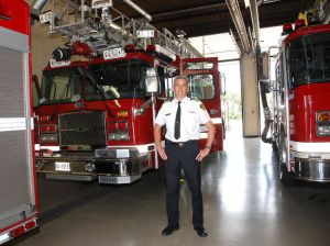 St. Thomas Fire Chief Rob Broadbent