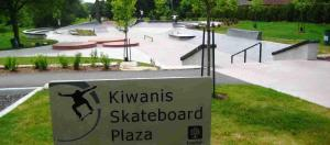 Kiwanis Skateboard Park, London