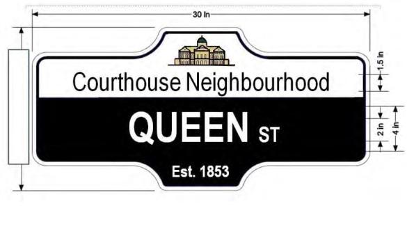 Queen street signjpg