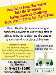Mayor's 20 minute challenge