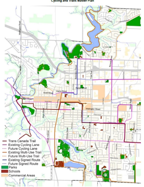 Cycling and Trails Master Plan