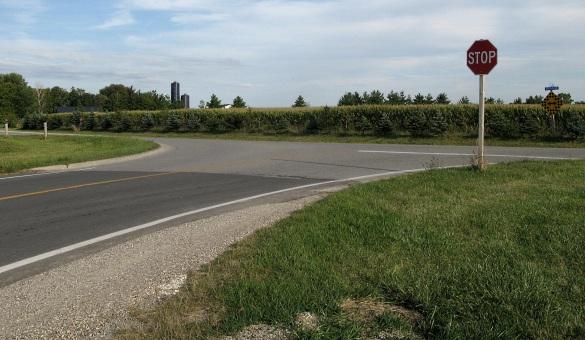 Wonderland road stop signjpg