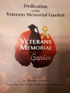 Veterans Memorial Garden dedicationjpg