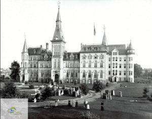 Alma College 1891 jpg