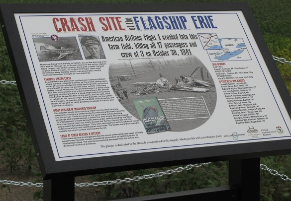 flagship erie plaque