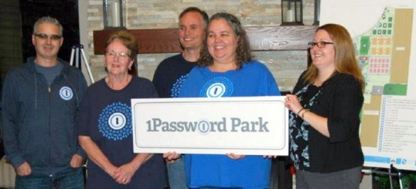 1Password Park announcement