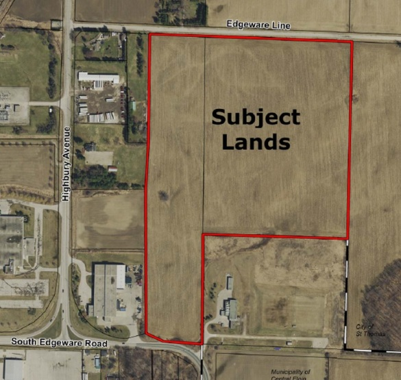Industrial land purchase Dec. 2018