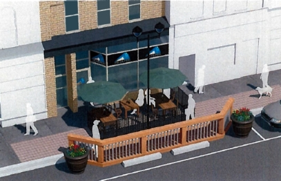 Outdoor patio proposal