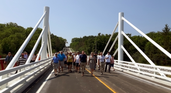 DALEWOOD BRIDGE OPENING