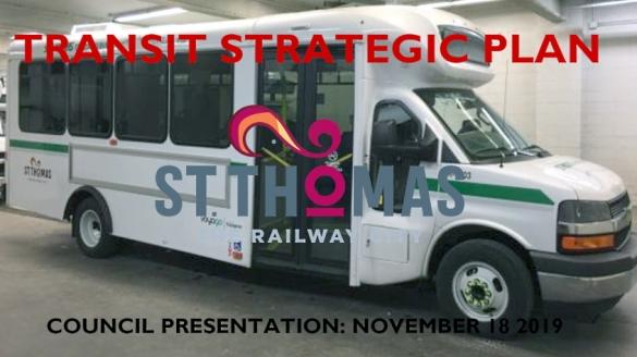 St. Thomas Transit strategic plan