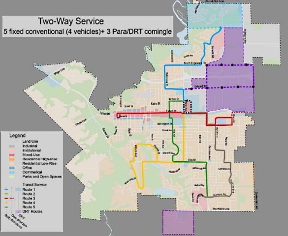 St. Thomas Transit new routes