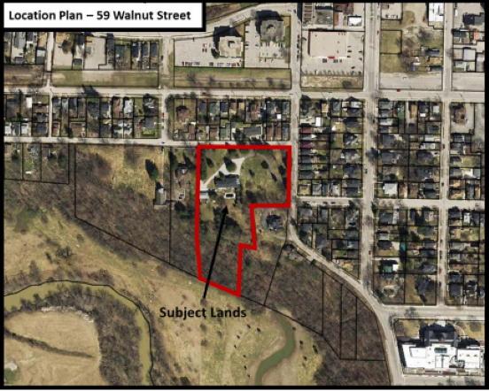 59 Walnut Street proposed development