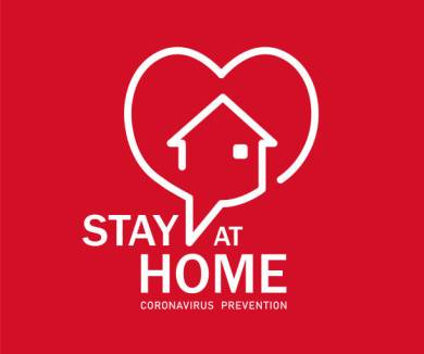 Stay at Home Symbol