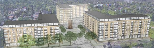 Alma College Square rendering