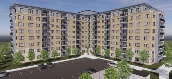 Alma College Square new rendering March, 2021