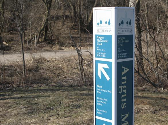 Trail at Sauve Avenuejpg
