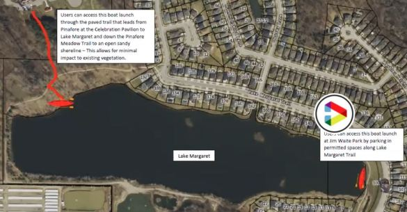 Lake Margaret boat launch proposed