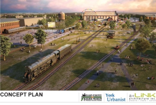 ECRM railway park concept