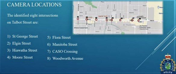 CCTV downtown locations